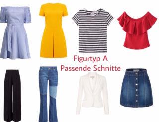 Figur_Typ_A Passende Schnitte