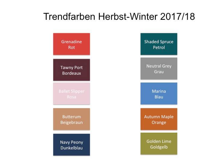 trendfarben f r herbst winter 2017 2018 elitestyle. Black Bedroom Furniture Sets. Home Design Ideas