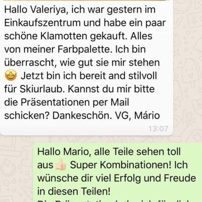 Bewertung von Mario