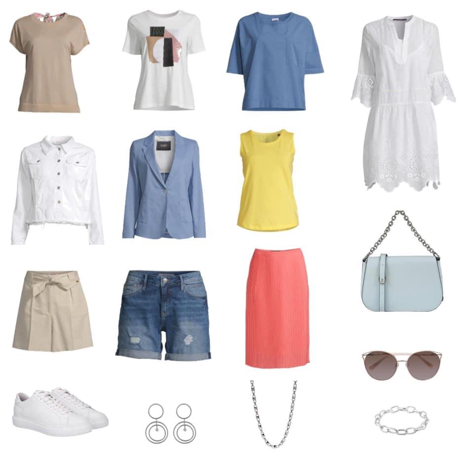 Kleidung für den Urlaub