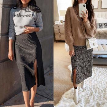 Röcke mit Schlitzen