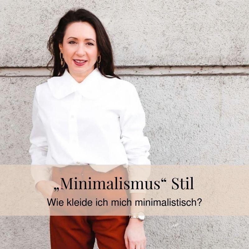 Wie kleide ich mich minimalistisch